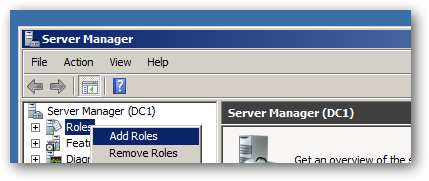 open server manager