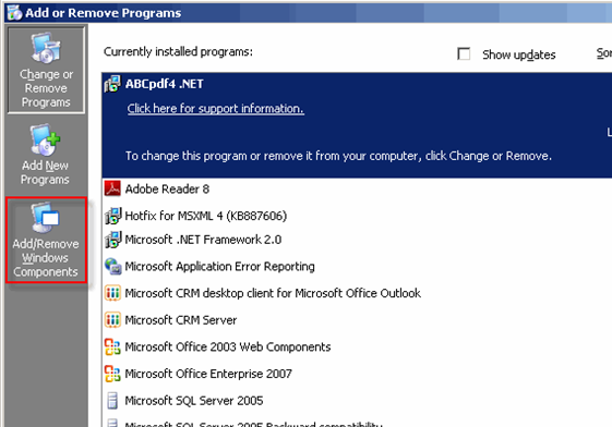How to Enable and Disable IE Ehanced Security on Server 2003_1